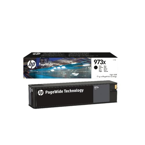 HP 973X Black PageWide Inkjet Cartridge High Yield L0S07AE