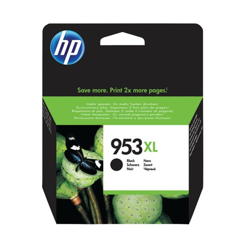 HP 953XL HY Black Ink Cartridge L0S70AE#BGX