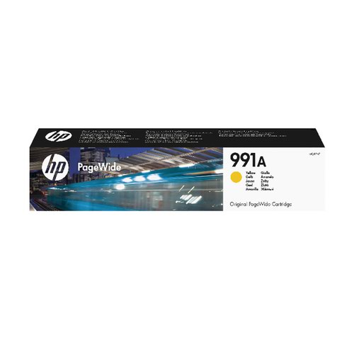HP 991A Yellow Original PageWide Cartridge M0J82AE