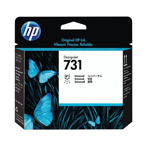 HP 731 DesignJet Printhead (Cyan Magenta Yellow Black) P2V27A