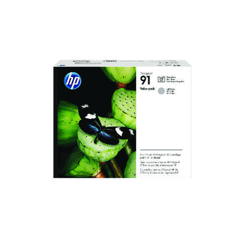 HP 91 Printhead Photo Black/Light Grey P2V38A