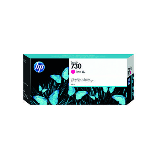 HP 730 300ml Magenta DesignJet Ink Cartridge P2V69A