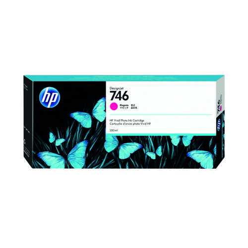 HP 746 300ml Magenta Ink Cartridge P2V78A