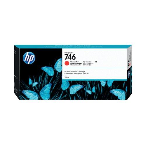 HP 746 300ml Chromatic Red Ink Cartridge (Capacity: 300ml) P2V81A