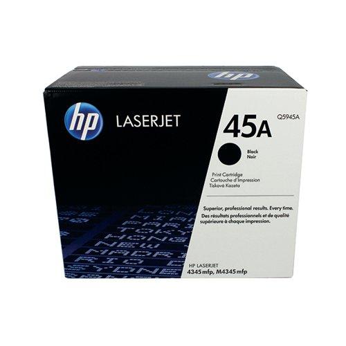 HP 45A Black Laserjet Toner Cartridge Q5945A