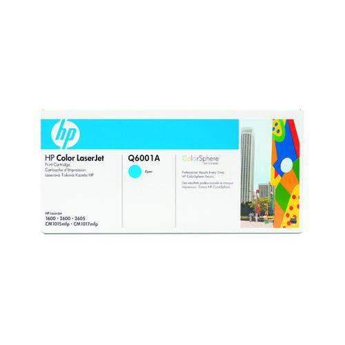 HP 124A Cyan Laserjet Toner Cartridge Q6001A