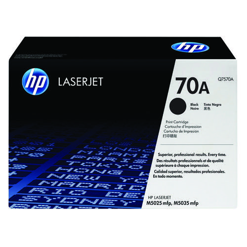 HP 70A Black Laserjet Toner Cartridge Q7570A