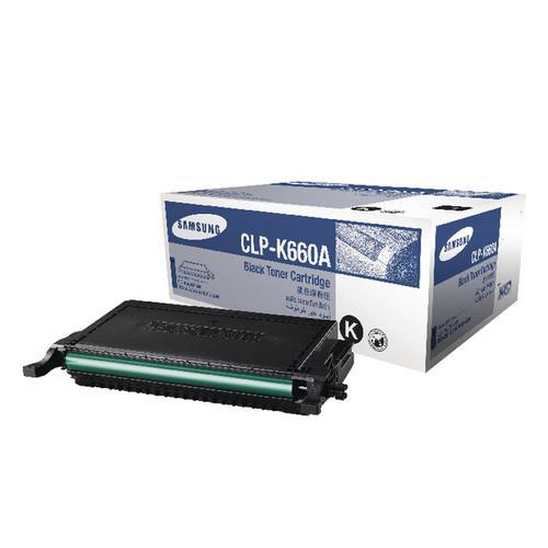 Samsung CLP-K660A Black Standard Yield Toner Cartridge ST899A
