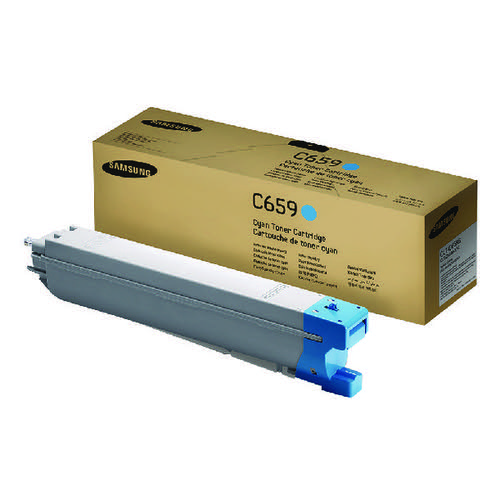 Samsung CLT-C659S Cyan Toner Cartridge SU093A