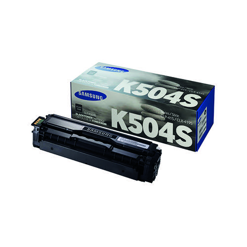 Samsung CLT-K504S Black Standard Yield Toner Cartridge SU158A