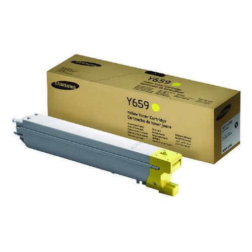 Samsung CLT-Y659S Yellow Toner Cartridge SU570A
