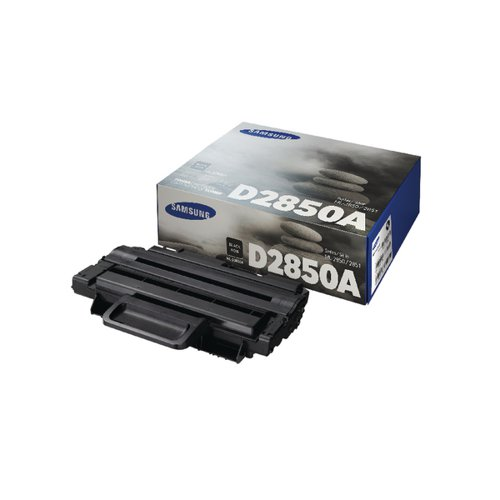 Samsung ML-D2850A Black Standard Yield Toner Cartridge SU646A