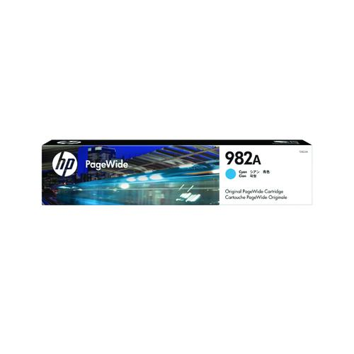 HP 982A Cyan Original PageWide Cartridge T0B23A