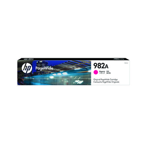 HP 982A Magenta Original PageWide Cartridge T0B24A