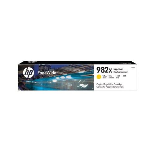 HP Original 982X HY Yellow PageWide Cartridge T0B29A