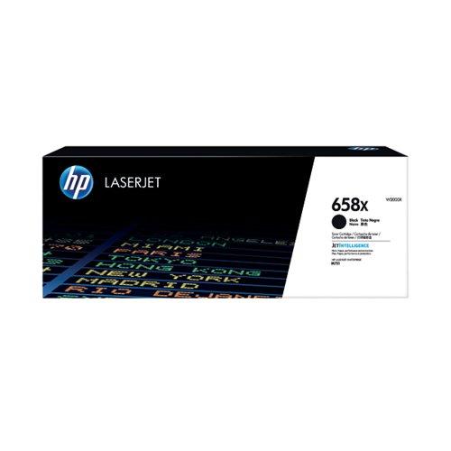 HP 658X LaserJet Toner Cartridge Cyan W2001X