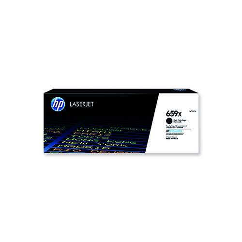 HP 659X Original LaserJet Toner Cartridge High Yield Black W2010X