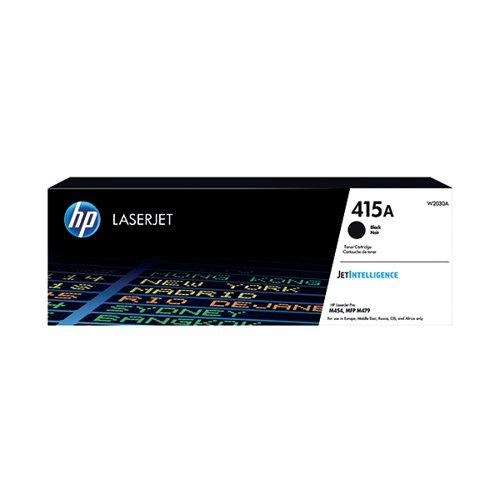 HP 415A Black LaserJet Toner Cartridge W2030A