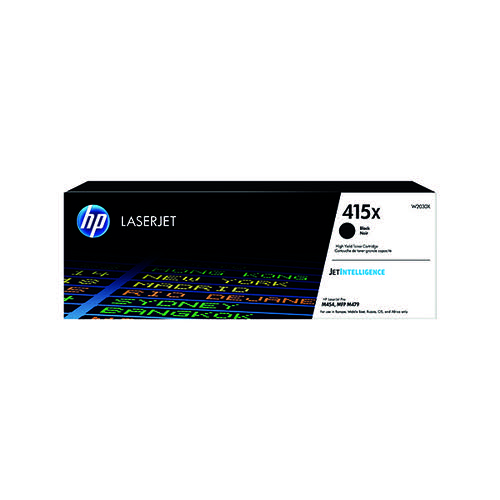 HP 415X Black LaserJet Toner Cartridge W2030X
