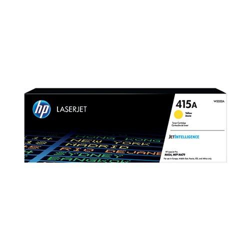 HP 415A Yellow LaserJet Toner Cartridge W2032A