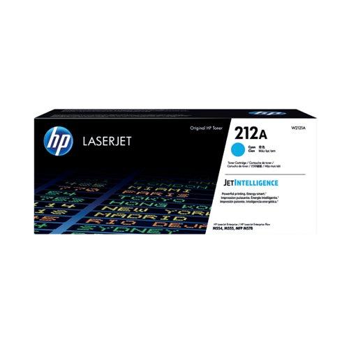 HP 212A Cyan Laserjet Toner Cartridge W2121A