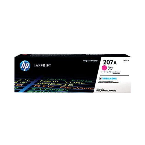 HP 207A LaserJet Toner Cartridge Magenta W2213A