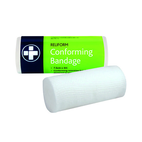 Reliance Medical Reliform Conforming Bandage 75mmx4m (Pack of 10) 432