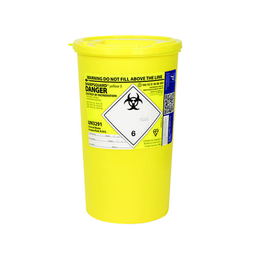 Reliance Medical Sharps Container 5 Litre 4600