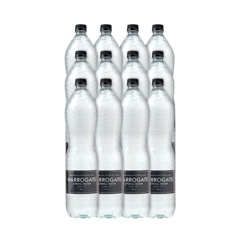 Harrogate Still Spring Water 1.5L Plastic Bottle P150121S (Pack of 12) P150121S