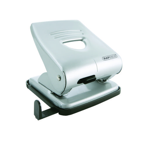 Rapesco 827 2-Hole Metal Punch Silver 1023