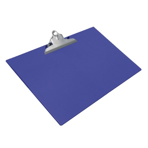 Rapesco Heavy Duty Clipboard with Hanging Hole A3 Blue 1136