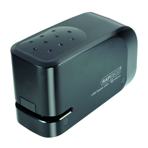 Rapesco 626EL USB Electric Stapler Capacity 15 Sheets Black 1454