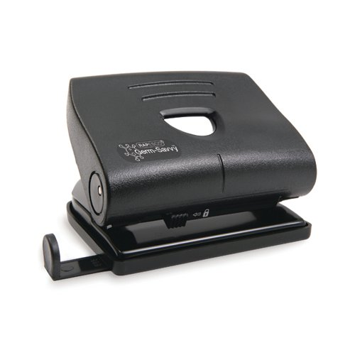 Rapesco Germ-Savvy 820-P 2-Hole Hole Punch 22 Sheets Black PF8700B1