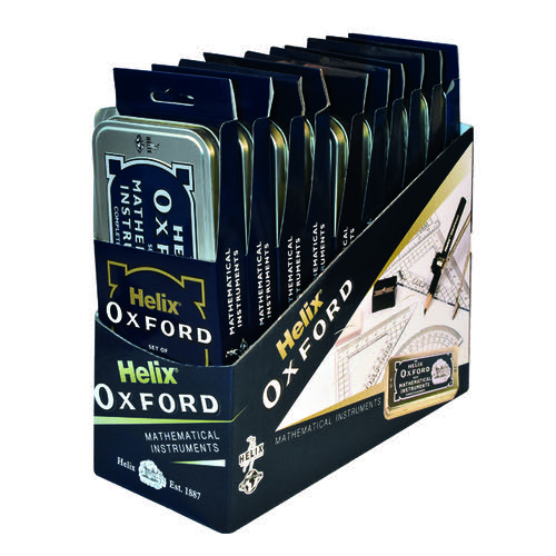Helix Oxford Maths Set (Pack of 10) 170505