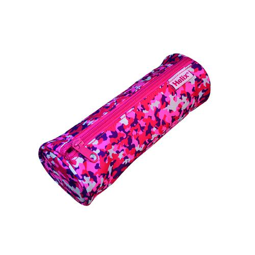 Oxford Camo Pencil Case Pink (Pack of 6) 932701