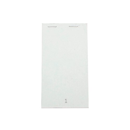 White Duplicate Service Pad Small (Pack of 50) PAD 20