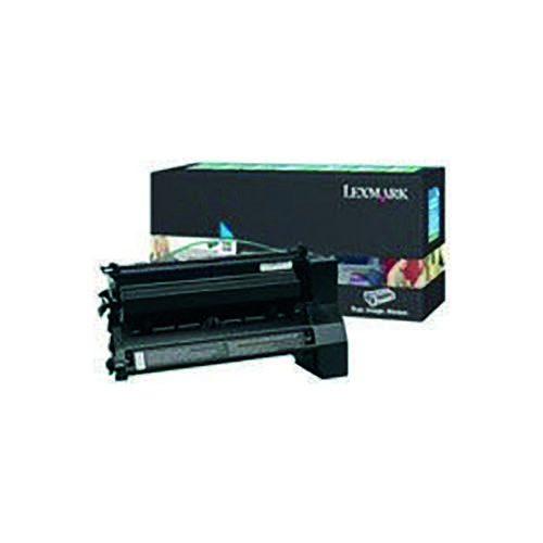 Lexmark Cyan Extra High Yield Return Program Toner Cartridge C782X1CG Toner IB01879