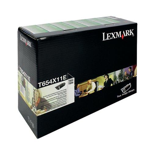 Lexmark Black Extra High Yield Return Programme Toner 0T654X11E