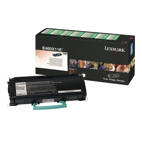 Lexmark Extra High Yield Black Toner Cartridge E460X11E