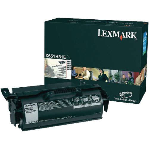 Lexmark Black Return Programme Toner Cartridge X651H31E