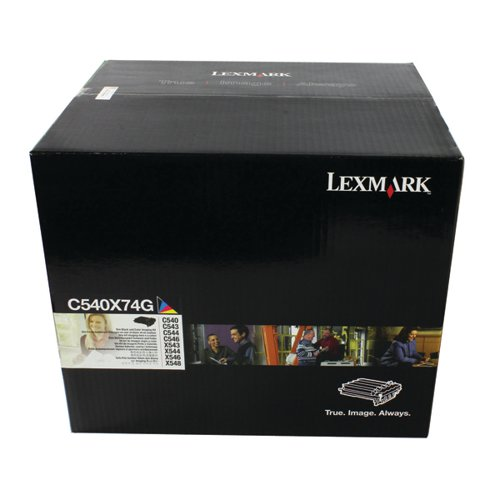 Lexmark C540 Black & Colour Imaging Kit 0C540X74G
