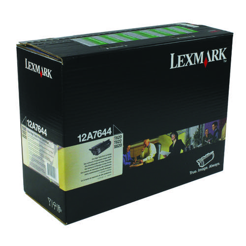Lexmark Black Corporate Toner Cartridge 0012A7644