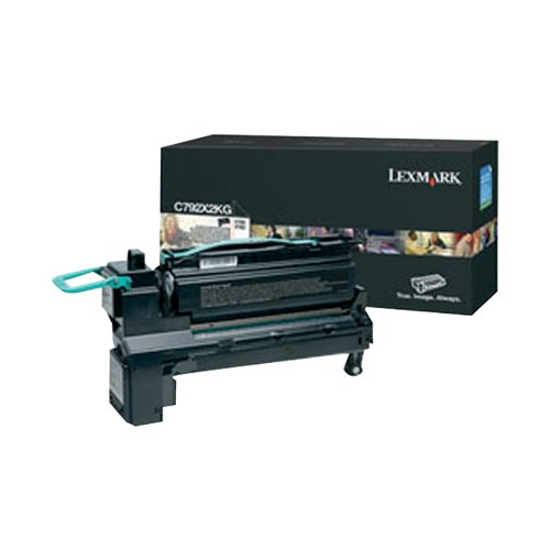 Lexmark C792 Cyan Extra High Yield Toner Cartridge C792X1CG