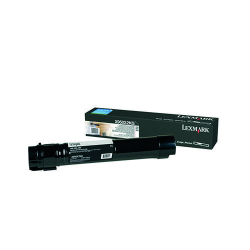 Lexmark X950 Black Extra High Yield Toner Cartridge X950X2KG