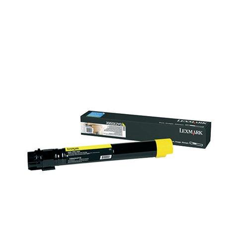 Lexmark X950 Yellow Extra High Yield Toner Cartridge X950X2YG
