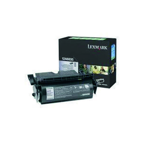 Lexmark T520/522 Black High Yield Return Programme Laser Toner 12A6835