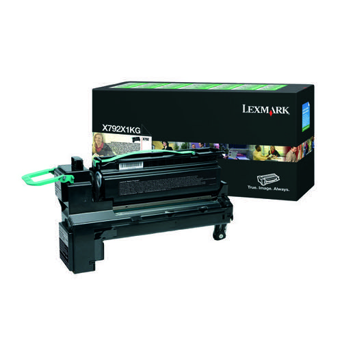 Lexmark Extra High Yield Black Return Program Toner Cartridge X792X1KG