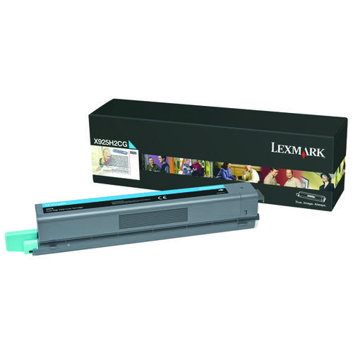 Lexmark Cyan High Yield Toner Cartridge X925H2CG