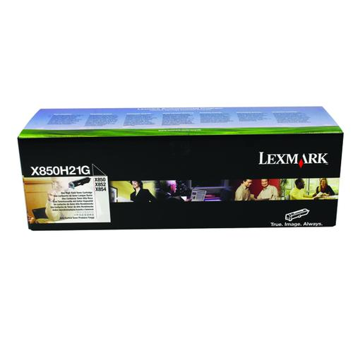 Lexmark X850/X852/X854 Black Laser Toner Cartridge X850H21G