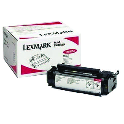 Lexmark Black High Yield Toner Cartridge 17G0154